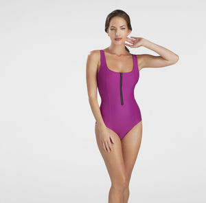 Zip Sport Swimsuit - beachwear