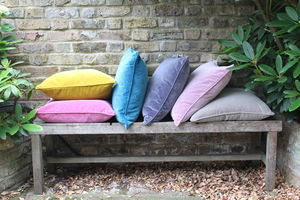 Velvet Square Cushion - cushions