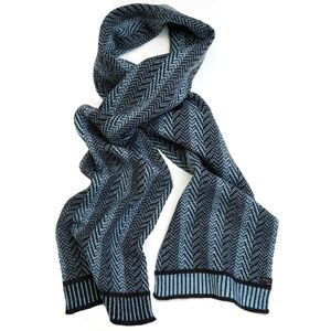 Crag Knitted Scarf - scarves