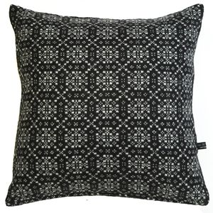 Cariad Knitted Cushion - patterned cushions