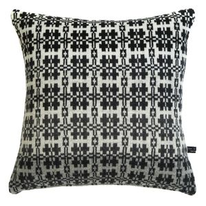 Welsh Blanket Knitted Cushion - cushions