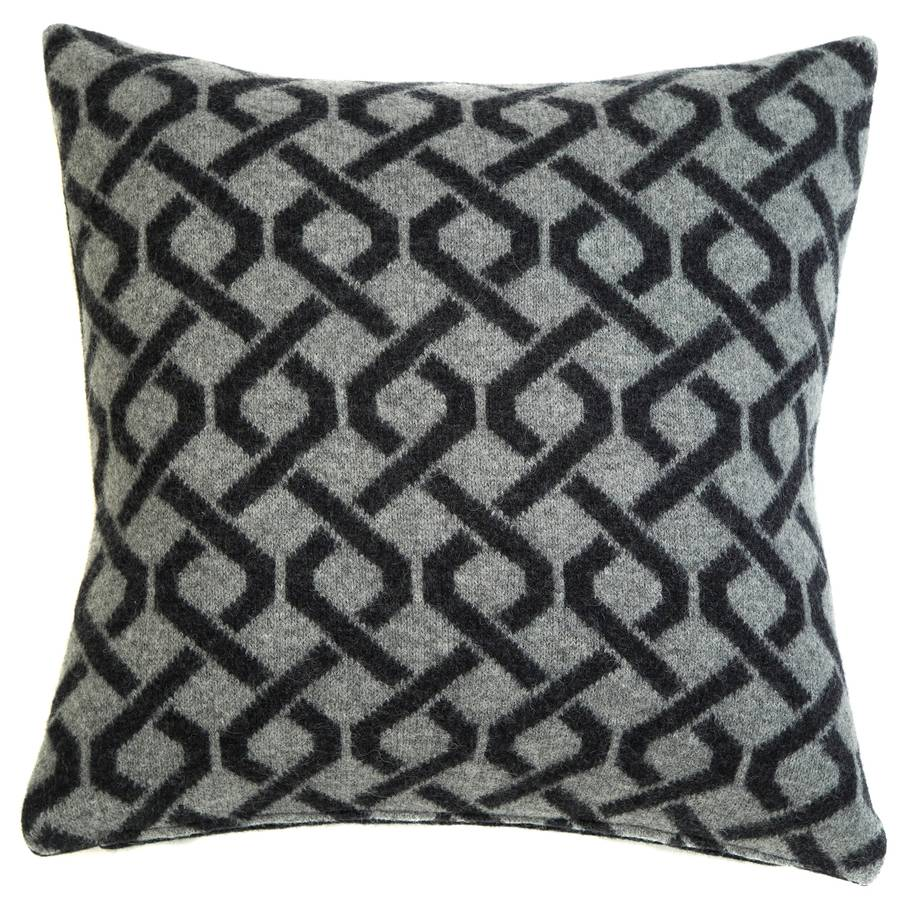 Aran knitted cushion cable knitted cushion patterned cushions bankloansurffo Gallery