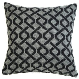 Cable Knitted Cushion - bedroom