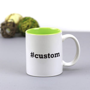 Personalised Hashtag Mug - mugs