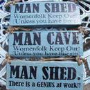 Made To Order Man Signs