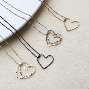 Love Heart Necklace - necklaces & pendants