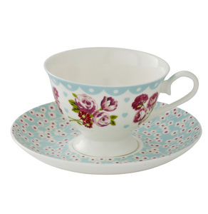 Vintage Kitchen Cup And Saucer - cups & saucers
