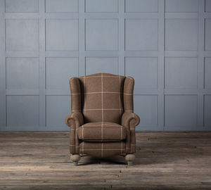 Cosy Squire Fabric Wingback Armchair - furniture