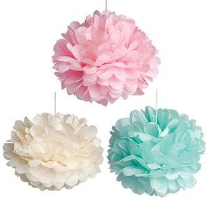 Set Of Three Pastel Pompoms - as seen in the press
