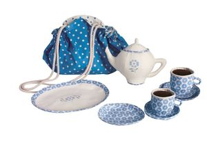 Fabric Tea Set In A Picnic Bag - view all sale items