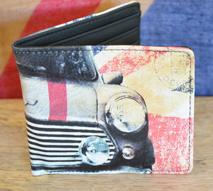 British Mini Wallet - wallets & money clips
