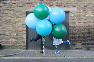 Set Of Two Giant Round Balloons - balloons