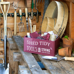 Shed Tidy - gifts for him