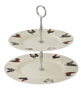 Rooster Cake Stand - cake stands