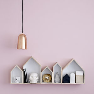 Freja Copper Pendant Light - lighting