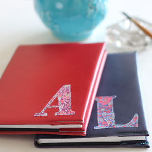 Monogram Leather Journal