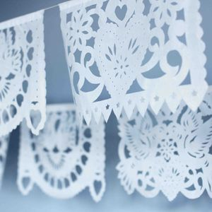 Papel Picado Flag Garlands - bunting & garlands