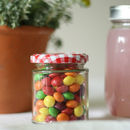 Plain Glass Jam Jar