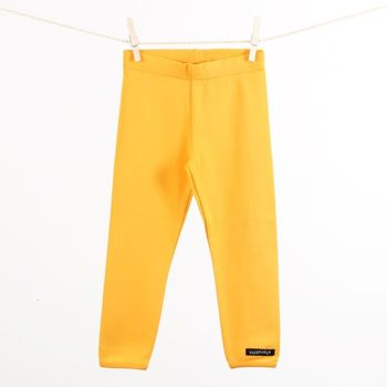 Impkids Villervalla Sun Yellow leggings