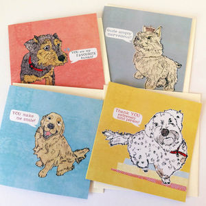 Dog Note Cards - all purpose cards, postcards & notelets