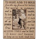 'To Have And To Hold' Picture Frame