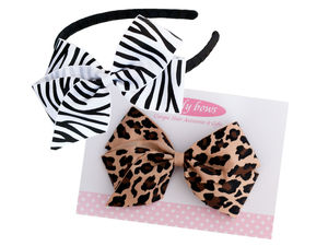 Leopard And Zebra Gift Set