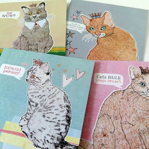 Cat Note Cards - all purpose cards, postcards & notelets