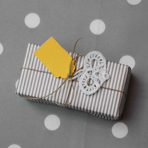 Set Of Ten Scalloped Gift Tags - diy stationery