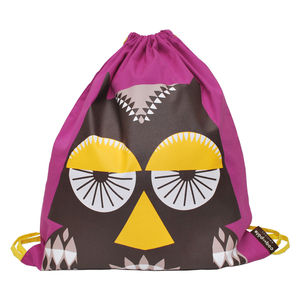 Kit Bag Owl - bags, purses & wallets