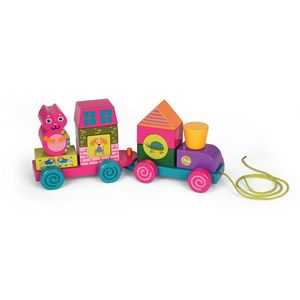 Choo Choo Stacking Puzzle Train - traditional toys & games