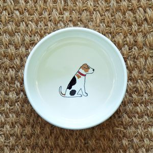 Jack Russell Dog Bowl - food, feeding & treats