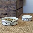 'Future Crufts Winner' Dog Bowl