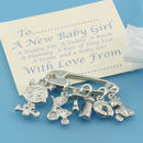 New Baby Girl Charms For Christening Gifts