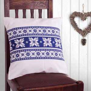 Fair Isle Cushion - patterned cushions