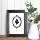 Personalised Pet Cameo Print