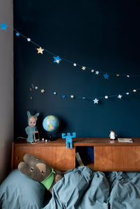 A Glow In The Dark Stars Bunting