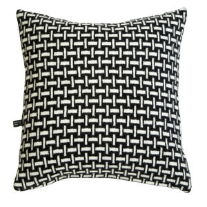 Plain Weave Knitted Cushion - living room