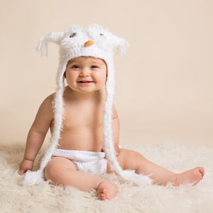 Handmade Snugly Furry Owl Hat - our black friday sale picks