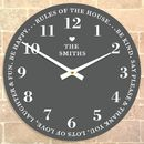 Personalised Family Time Clock