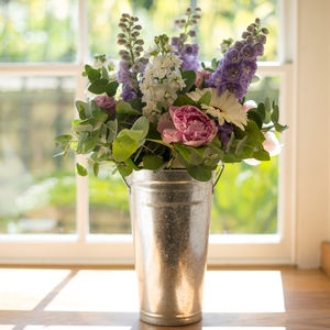 Cottage Garden Fresh Flowers Bucket