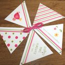 matching bunting available