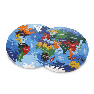 Handmade Wooden Map Of The World Puzzle - toys & games