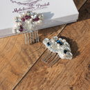 Bridal Hair Combs New 'Fleur' Collection