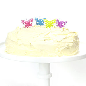 Butterfly Birthday Cake Candles