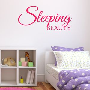Sleeping Beauty Wall Sticker