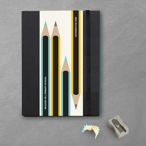 Personalised Teacher Gift Notebook - notebooks & journals