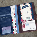 'Off To See The World' Travel Wallet