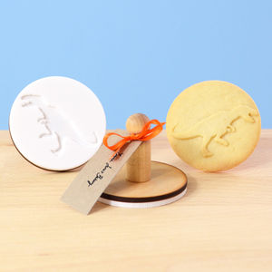 T Rex Dinosaur Cookie Stamp - baking