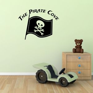 Pirate Cove Wall Sticker - decorative accessories