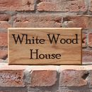 Personalised Bespoke Handmade Door Number House Sign